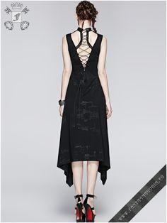 Q-252 Arya dress punk rave | Fantasmagoria.eu - Gothic Fashion boutique