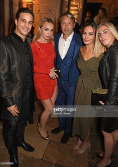 Alaa Safi, Katrina Durden, Mads Mikkelsen, Zara Phythian and guest attend Marvel Studios and British GQ hosted reception in The Cloisters at Westminster Abbey, to celebrate the release of Doctor Strange on October 24, 2016 in London, England.