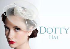 Sara Gabriel Bridal Headpiece Dotty