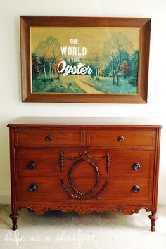 DIY Thrift Store Art: for the #nursery #homedecor
