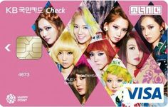 SNSD VISA CARD