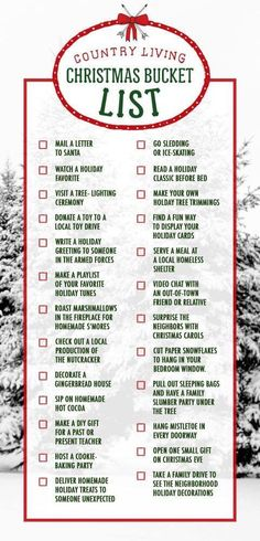 Consider this your Christmas bucket list for the holiday season. Check off all Consider this your Christmas bucket list for the holiday season. Check off all 25 activities from watching a holiday movie to sipping homemade hot cocoa. Noel Christmas, Merry Little Christmas, Winter Christmas, Christmas Crafts, Family Christmas, Funny Christmas, Christmas Vacation, Christmas Countdown, Christmas Movies