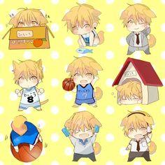 Cute Kise Ryouta chibi ( * ^ * )