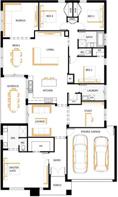 Horizontal house plans - Home design and style