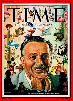 Walt Disney Time Magazine