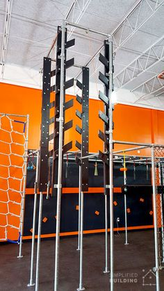 Learn how you can build your own obstacle course to train to be the next American Ninja Warrior. America Ninja Warrior, Ninja Warrior Gym, Ninja Warrior Course, Warrior Workout, Backyard Gym, Backyard Obstacle Course, Backyard Ideas, Diy Gym Equipment, No Equipment Workout