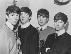 George Harrison, Paul McCartney, John Lennon, and Richard Starkey Beatles One, Beatles Photos, Beatles Poster, Great Bands, Cool Bands, Love Me Do, British Invasion, The Fab Four, Cultural