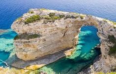Corfu Cruise to Mainland Greece and Blue Lagoon Beach Beautiful Places To Visit, Oh The Places You'll Go, Hidden Places, Ibiza, Paxos Greece, Blue Lagoon Beach, Greek Sea, Places In Greece, Paradise On Earth