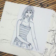 Summer lovin sketch
