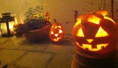 pumpkin carving done!