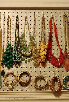 DIY Jewelry Organizer and Giveaway Jan 21 2014 DIY Jewelry Organizer and Giveaway