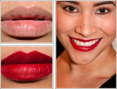 NARS Mascate Pure Matte Lipstick a bold red that is mostly matte but not drying. $24.