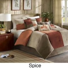Madison Park Maddox 7-Piece Comforter Set | Overstock.com