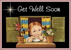 Free Get well soon Graphics. Animated Get well soon Gif Animations. Get well soon Gifs images and Graphics. Get well soon Pictures and Photos. Gif Animé, Animated Gif, Get Well Quotes, Get Well Wishes, God Bless You, Get Well Soon, Power Of Prayer, Little Girls, Anime