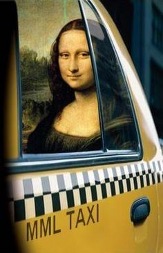 Mona Lisa Project- Mona Lisa - Mona Taxi