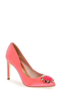 Sparkly pink pump for prom | Ted Baker