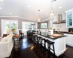 Open Kitchen Living Concept