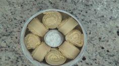 Rosca Estrela (Pode trocar os ingredientes use azeite de oliva açúcar demerara  ...)