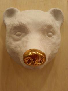 Máscara de Urso de Porcelana - Bear - quatro vezes wipfli para comprar: www.corporacaodeoficios.com