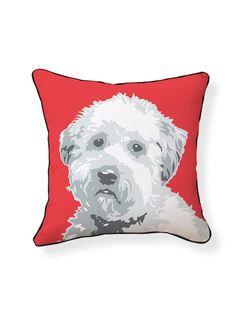 Wheaten Terrier Pillow