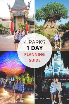 How to plan a Walt Disney World 4 Parks 1 Day Challenge WITHOUT being exhausted!