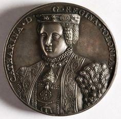 Medal commemorating the marriage of Sigismund II Augustus and Catherine of Austria by Steven Corneliusz van Hervijck, 1561, Muzeum Narodowe w Krakowie (MNK)