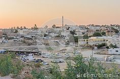 Rahat, (Beer-Sheva) Negev, ISRAEL -July 24,Panoramic View Of The City Of Rahat At Sunset. - Download From Over 41 Million High Quality Stock Photos, Images, Vectors. Sign up for FREE today. Image: 57666641