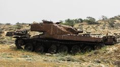 Tank, Wreck, Destroyed, Rusty, Old