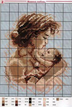 - cross stitch woman, mum,mother with bay,child Cross Stitch Angels, Cute Cross Stitch, Cross Stitch Designs, Cross Stitch Patterns, Cross Stitching, Cross Stitch Embroidery, Bordados E Cia, Cross Stitch Collection, Cross Stitch Boards