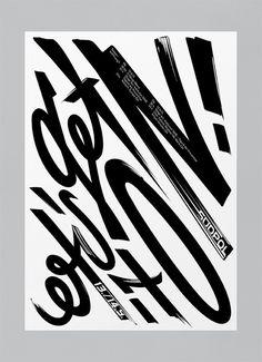 bureaunoirceur:Typography(Let's get it on! by Suedpol, viatypeverything) — Designspiration