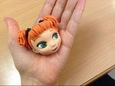 Modellare Anna baby (Frozen) - Modelling baby Anna (Frozen) - YouTube