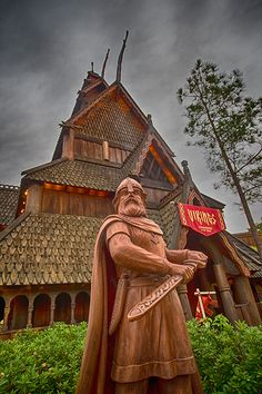 Walt Disney World Resort   Journey to Norway Without a Passport in the Norway Pavilion at Epcot
