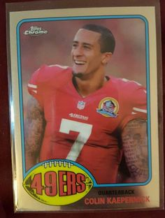 2015 TOPPS CHROME 60th Anniversary Colin Kaepernick San Francisco 49ers in Sports Mem, Cards & Fan Shop, Cards, Football | eBay