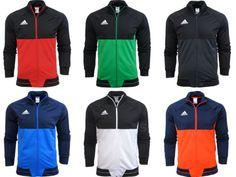 Adidas Tiro 17 Mens Training Top Jacket Jumper Gym Football With Pockets Sport Training Tops, Training Pants, Adidas Men, Nike Men, Adidas Country, Tracksuit Tops, Gym Tops, Sport Pants, Jacket Style