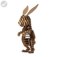 Paper Maker DIY Easter Bunny Decoration 3D Puzzle Rabbit Model Toys for Kids - Lovley creatures (*Amazon Partner-Link)