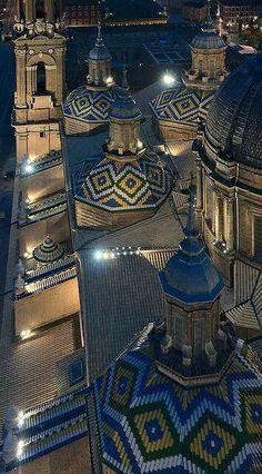 Basílica de Nuestra Señora del Pilar de Zaragoza,España