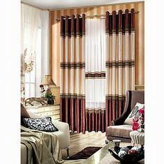 2014 Luxury Bedrooms Curtains Designs Ideas