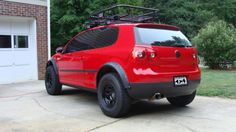 vw tdi lift kit | like what this guy did: tiguan springs.