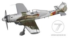 Focke-Wulf Fw 190D-9 by Gareth Hector
