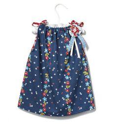 Shoulder Tie Toddler Dress