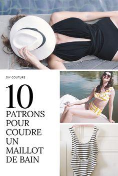 10 patrons pour coudre un maillot de bain / diy couture / sewing patterns swimming suits