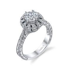 Vanna K #engagement #ring #wedding