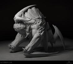 MeatBoss, Zoltan Manyi on ArtStation at https://www.artstation.com/artwork/Z6gew