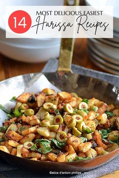 Now at your fingertips The Most Delicious Easiest Harissa Recipes! Get cranking and make some harissa. I promise it's super easy! #harissa #easyharissa Easy Healthy Recipes, Easy Meals, Easy Salads, Breakfast Recipes, Dinner Recipes, Different Salads, Potato Onion, Best Side Dishes, Recipes