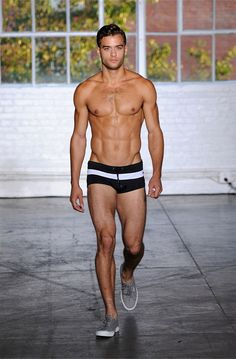 #Bañador Brief #Swimwear Parke  Ronen New York Spring-Summer 2015