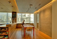 Seattle Penthouse - modern - dining room - seattle - BUILD LLC