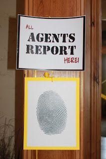 Spy Party...Great Idea!!