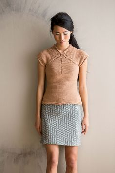 Ravelry: Six Point Tee pattern by Cathy Carron