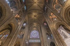 Notre Dame interior by Keith McInnes Photography, via Flickr