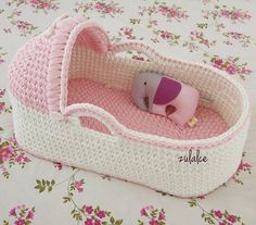 Rabbit Baby Blanket Making Baby Sweater Knitting Pattern, Crochet Basket Pattern, Baby Knitting, Baby Afghan Crochet, Crochet Bebe, Crochet Doll Clothes, Crochet Dolls, Baby Moses, Baby Baskets